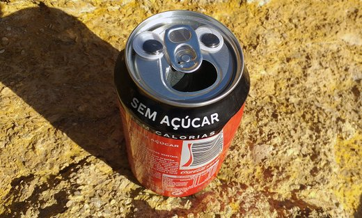Story about the sad tin can by @steemean