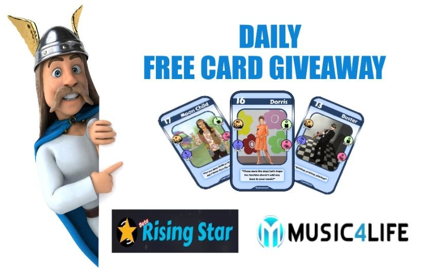 🤘  Daily Rising Star Giveaway - 365 Free Cards in 365 Days - 1 Card Per Day 🤘  - Day 207 🎁