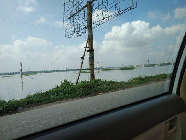 Dhaka to Tangail Road