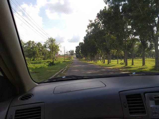 Inside Road Of My Aunt's House