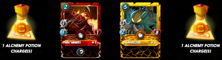 Quest Rewards from a few days ago