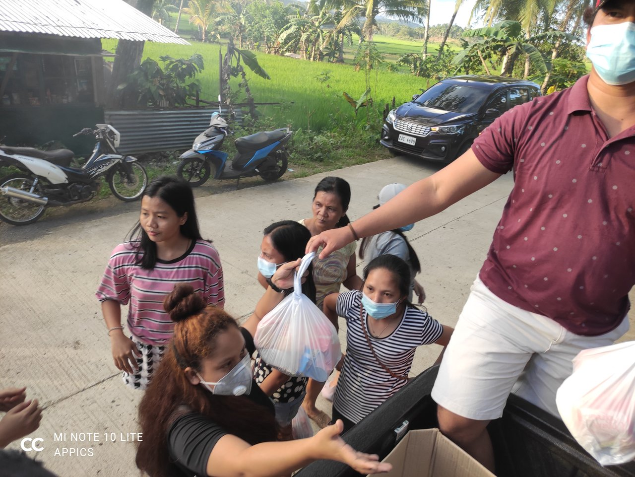 Sending some help to the nearby barangays affected by Typhoon Auring!  ...