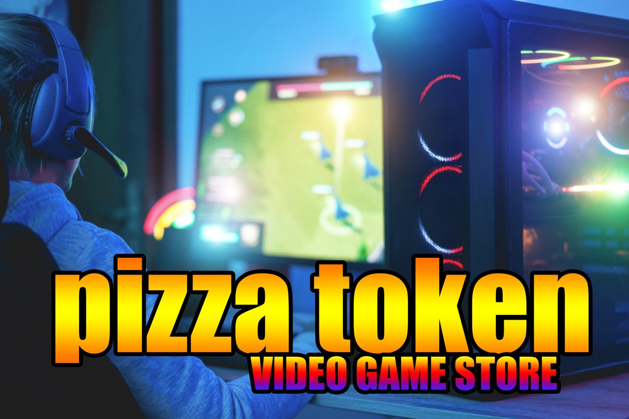 The HIVE Video Game Store powered by the $PIZZA Token is almost here!