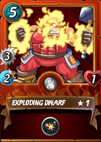 Exploding Dwarf