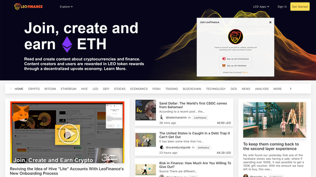 Join LeoFinance With Metamask and Earn ETH Rewards for Your Crypto Content.png