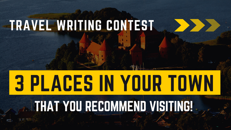 Contest: 3 places in your town that you recommend visiting! (Prize Pool - $100)