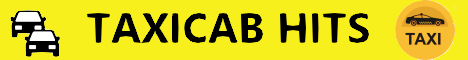 taxi cab hits banner