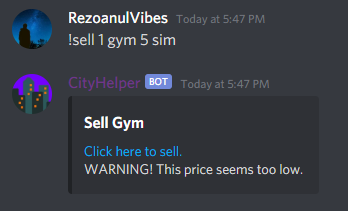 Warning message shows up when you sell at too low price.PNG