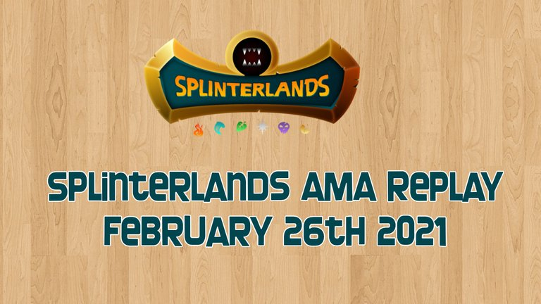 splinterlands AMA feb 26.jpg