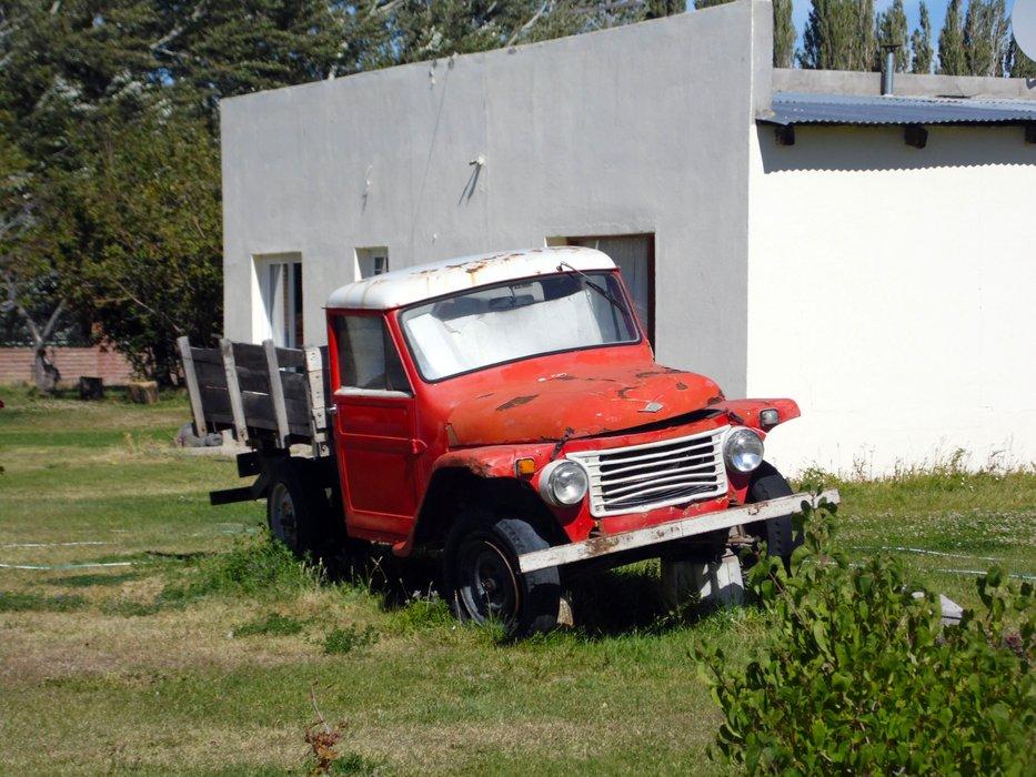 Old trucks in Los Antiguos