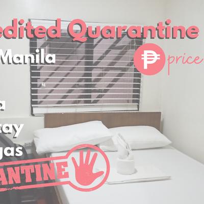 List of DOH-BOQ Mandatory & Stringent Quarantine Hotels with Estimated Price | Metro Manila & more
