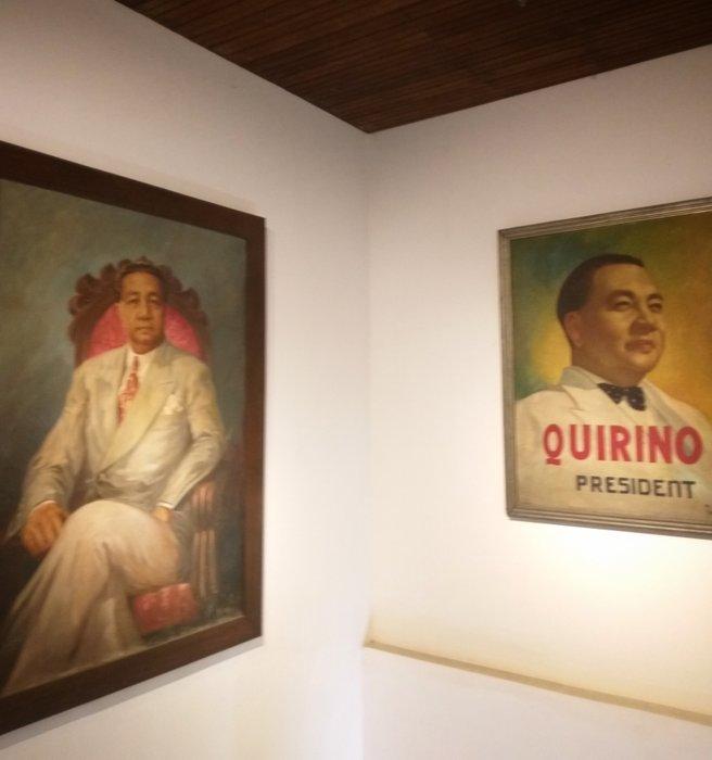 President Quirino's portrait paintings