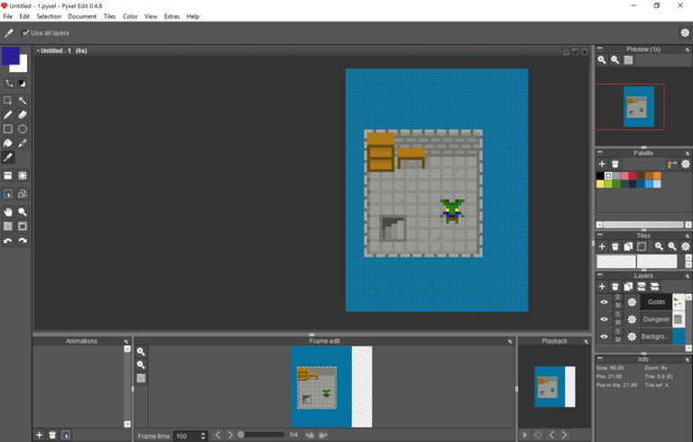 Pixel Art Tutorial - Goblin Dungeon