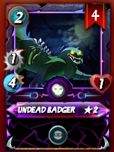 Undead Badger