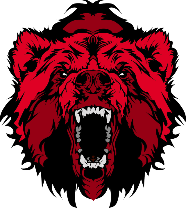 Logo SadBear 2 rojo.png
