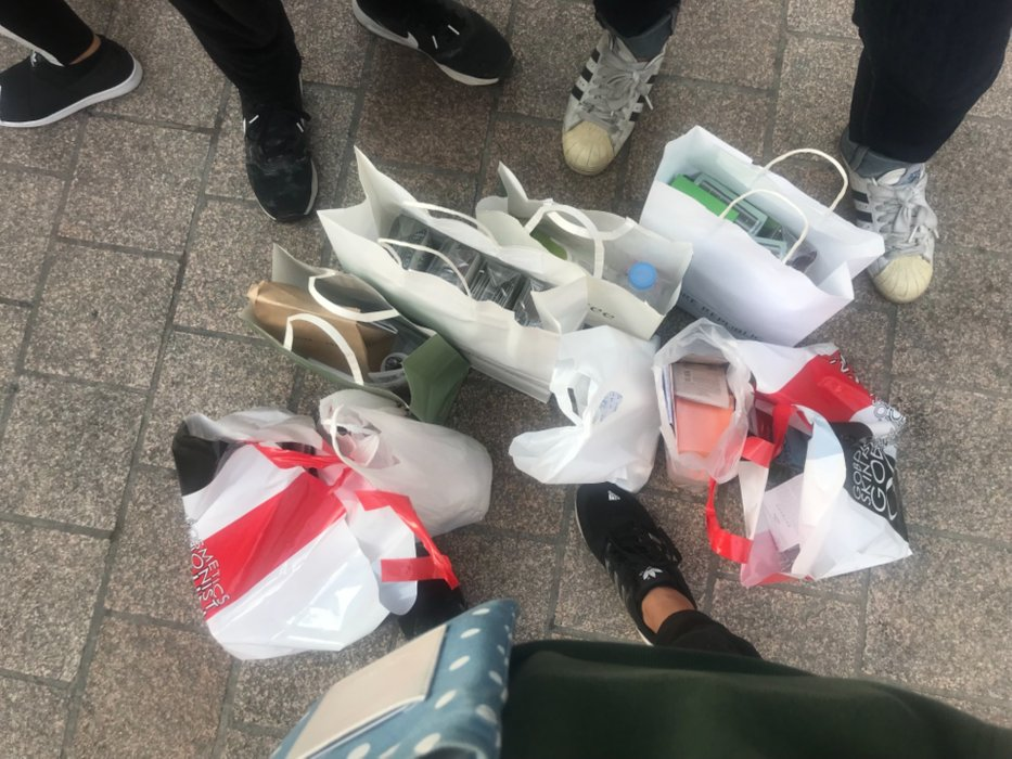 Go on a spree in Myeongdong