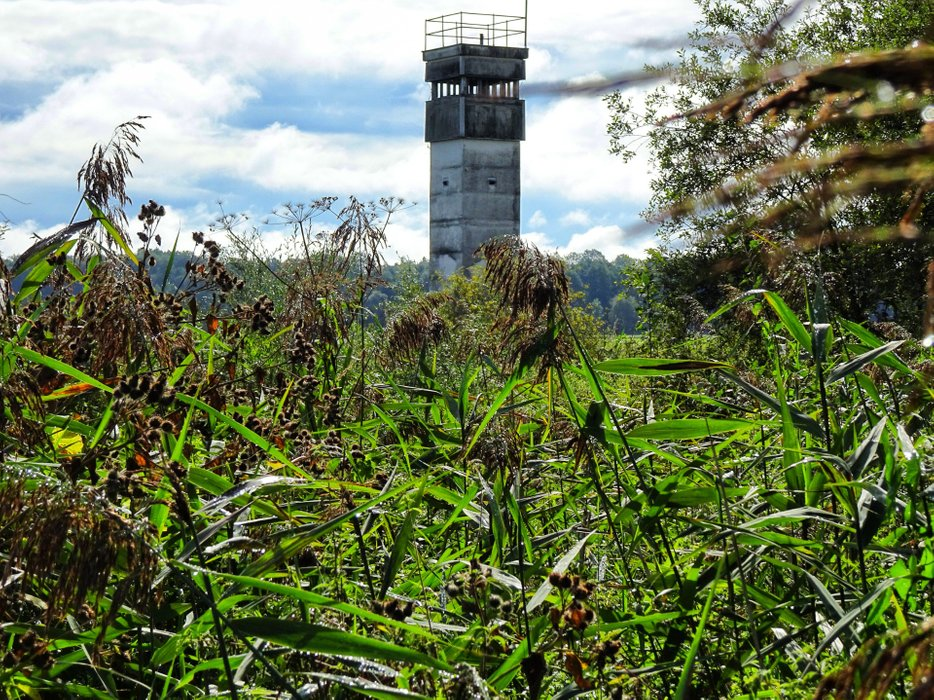One of the last watchtowers on the Green Ribbon.