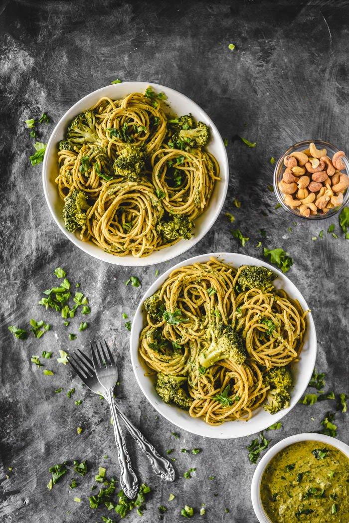 Broccoli and Cashew Pesto Pasta VeganGF4.jpg