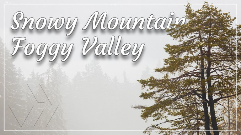 Snowy Mountains : Foggy Valley