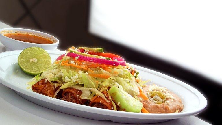 Enchiladas. Photo by adoproucciones.