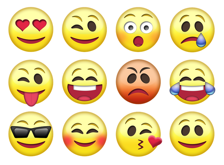 Picture of a bunch of emojis.