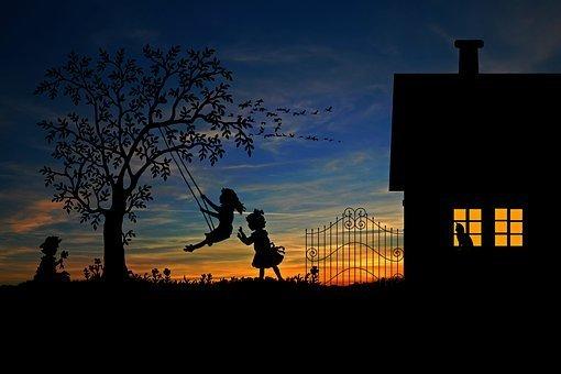 Children, Play, Rock, Leisure