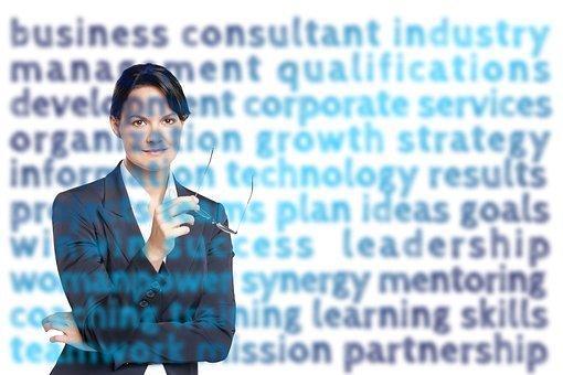 Business, Businesswoman, Suit, Success