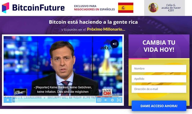 Bitcoin Future fiable o estafa