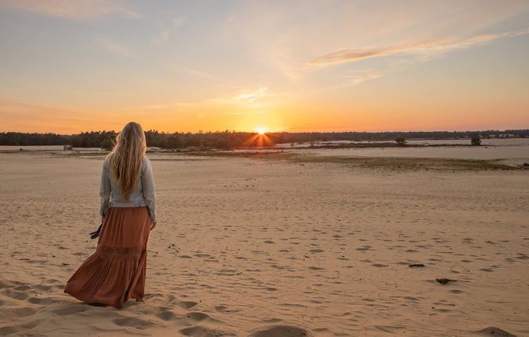 One of the pictures in the book from a shoot at national Park Drunense Duinen in the Netherlands!