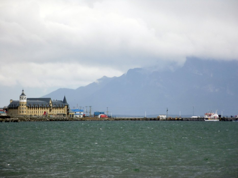 The coast in Puerto Natales