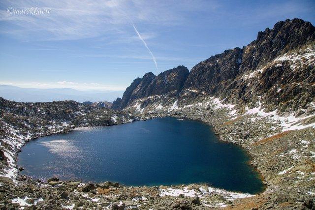 Vyšné Wahlenbergovo lake