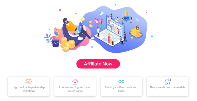 affiliate programme in coinpayu