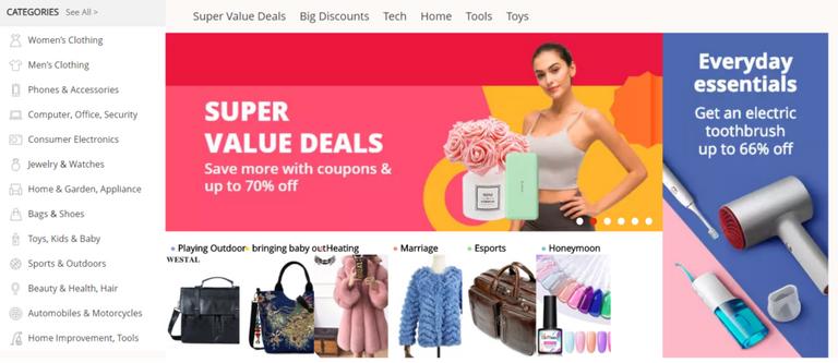 Best 5 Global E-Commerce Affiliates, aliexpress affiliate program
