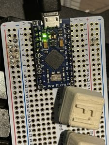 Arduino Pro Micro / Leonardo uses the ATMega32u4 microcontroller chip