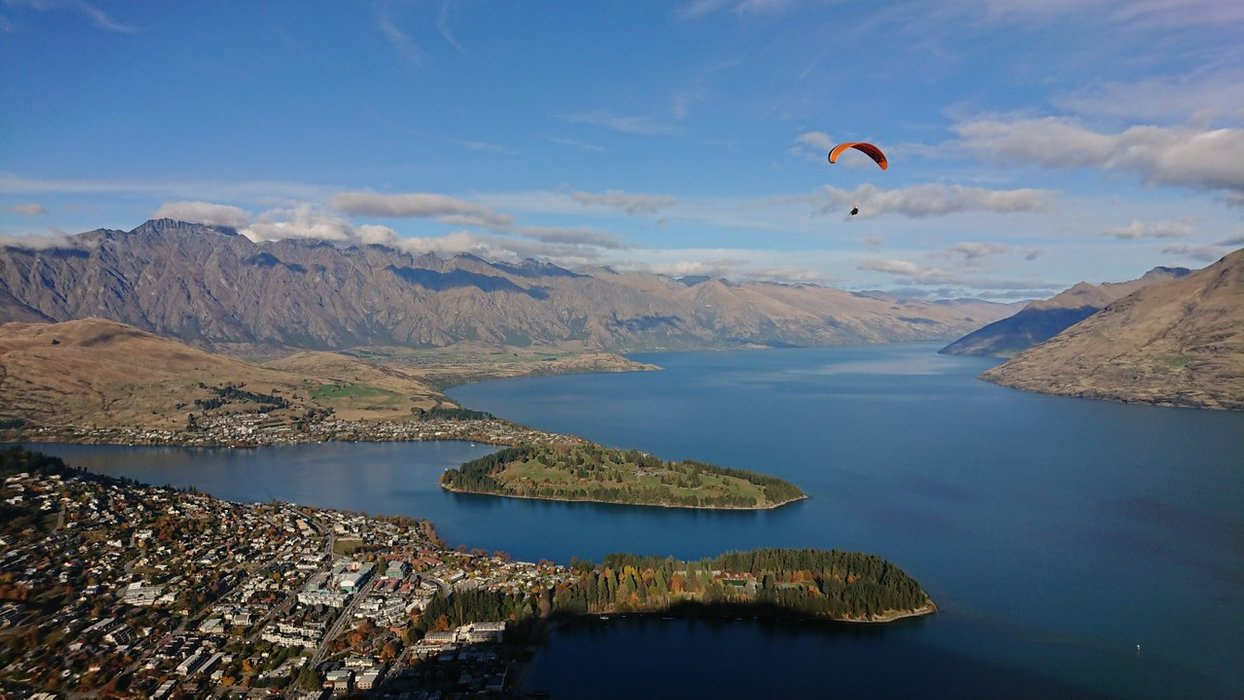 Want to fly over Queenstown?