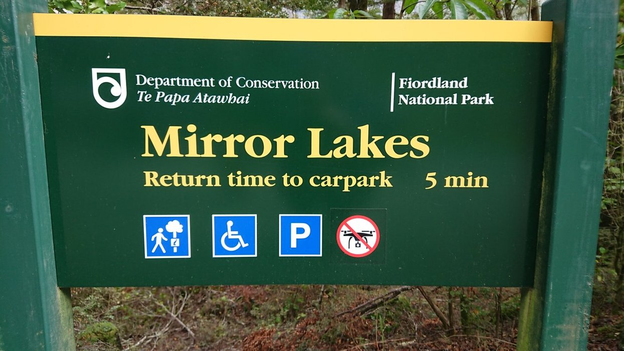 """Not too long after your """"mountainous embrace"""", look for the Mirror Lakes"""