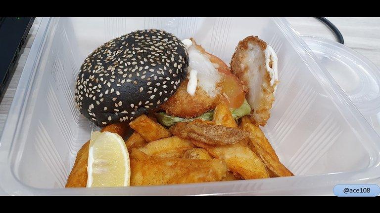 Fish burger@ace108