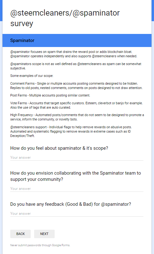 survey screenshot page 2