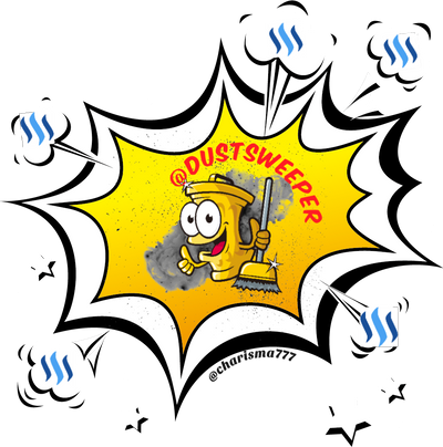 dustsweeper logo by @charisma777