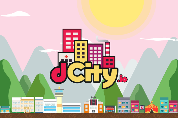 The dCity logo.