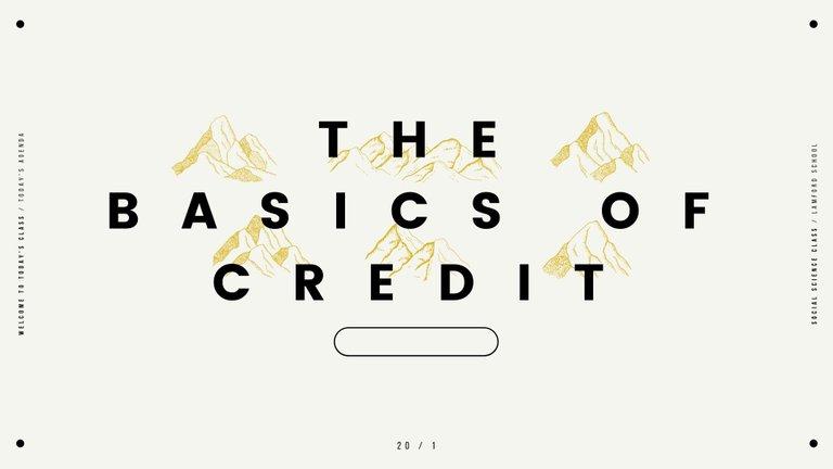 The Basics of Credit.jpg