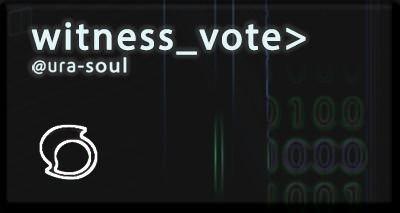 vote ura-soul for witness