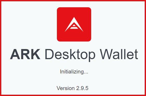 Download the 2.9.5 Ark Wallet