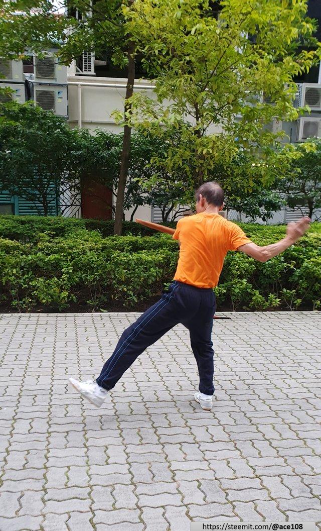 Umbrella martial art
