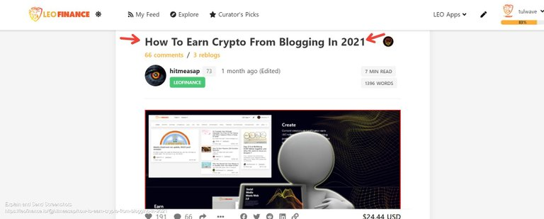Screenshot of How To Earn Crypto From Blogging In 2021.jpg