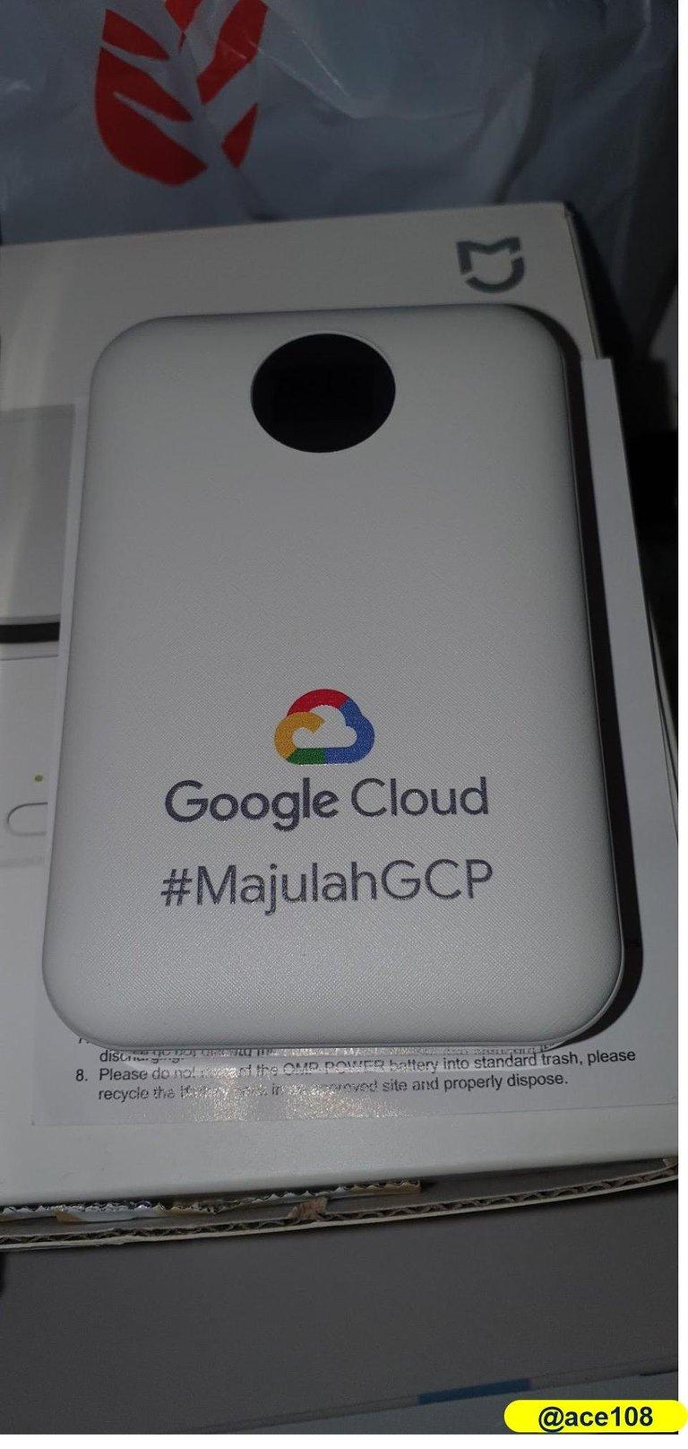 Google Cloud Power back@ace108