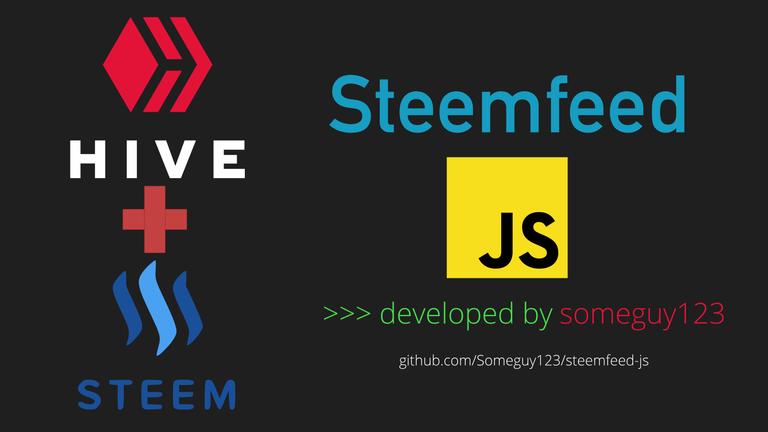 steemfeed-js logo