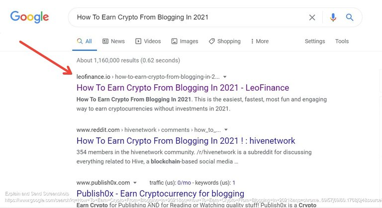 Screenshot of How To Earn Crypto From Blogging In 2021  Google Search.jpg
