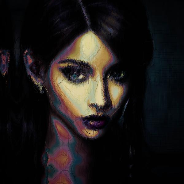 Tokenized Art on Opensea: Haunted Angels // Rallientha Neriven