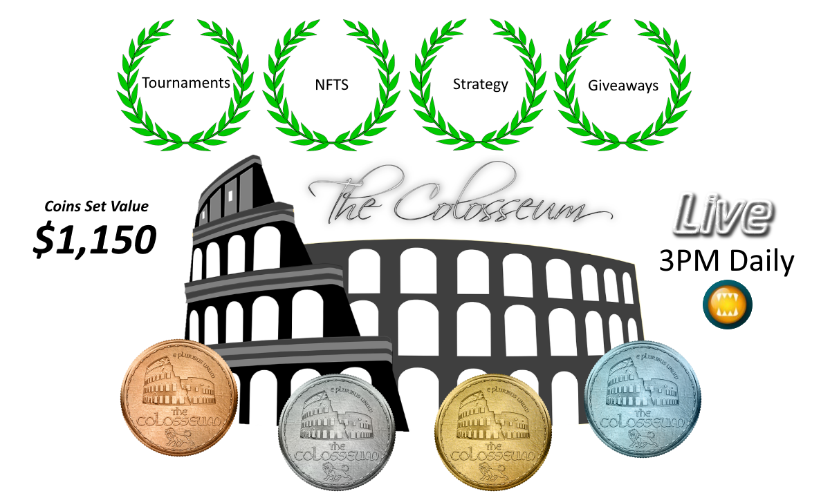 Splinterlands Enjoy the Gifts from the Colosseum 3PM Daily Show
